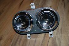 1955-56 Desoto Factory Oil Pressure and Temperature Gauge assembly NICE