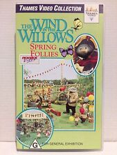 WIND IN THE WILLOWS ~ SPRING FOLLIES ~ RARE THAMES VHS VIDEO