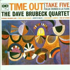 DAVE BRUBECK QUARTET TIME OUT REMASTERED CD NEW