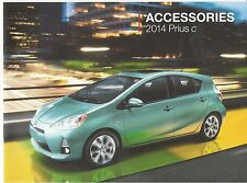 2014 Toyota Prius C Compact Hybrid 12-page Car Dealer Accessories Brochure