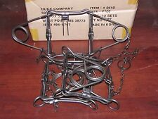 3  Duke 120  Double Spring Body Gripper Trap Trapping  Muskrat Mink 0410