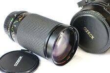 Pentax K un mount fit super Ozech II 35-200mm objectif f3.8-5.2 pka camera mount