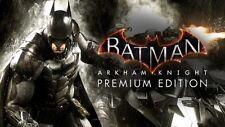 BATMAN Arkham Knight Premium Edition PC Steam Codice NUOVO Download area VELOCE gratuito
