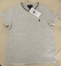NWT POLO RALPH LAUREN TODDLER BABY V NECK T-SHIRT 2/2T GREY (FREE SHIPPING)