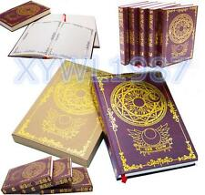 Japan Anime Card Captor Sakura Cosplay Magic Notebook Diary Book Clow Souvenir