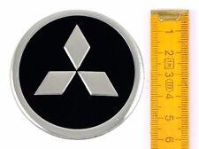 MITSUBISHI ★ 4 Stück ★ SILIKON Ø60mm Aufkleber Emblem Felgenaufkleber Radkappen