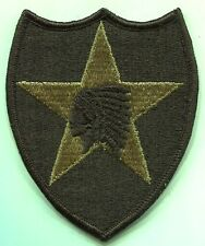 US Army 2nd Infantry Division Regulation MultiCam Patch w/velcro Made in USA