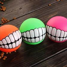 Sound Ball Pet Dog Puppy Squeaky Chew Toy Squeaker Ball Funny Toys