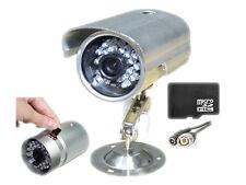 telecamera infrarossi videosorveglianza con registrazione su micro SD con sd 8gb