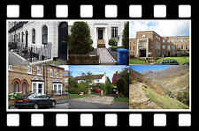 CARRY ON FILM LOCATIONS GUIDE - SLIDESHOW DVD - SHOWS FILM LOCATIONS THEN & NOW