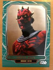 Star Wars 2013 Galactic Files 2 #579 Darth Maul Rogue Sith Mint