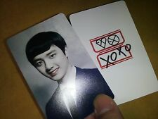 EXO K M plastic PHOTO CARD #17  ,12X2 Total 24 Sheet -monster lucky For Life
