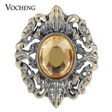 Vocheng Snap Button Inlaid Crystal 18mm Vintage Interchangeable Jewelry Vn-1335