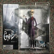 Albert, Tim Burton's The Corpse Bride Series 2 Action Figure McFarlane Toys NIP
