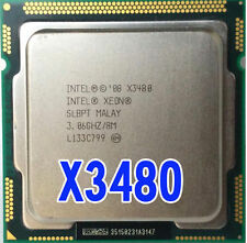 Intel Xeon X3480 3.06G LGA1156 1MB Quad-Core Processor SLBPT Tested