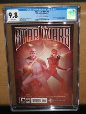 CGC 9.8 STAR WARS LUCAS DRAFT #1 FORBIDDEN PLANET VARIANT 2013 MARVEL MOVIE sdcc