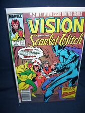 Vision and The Scarlet Witch #2 Marvel 1985 with Bag and Board