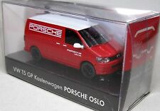 Wiking 1:87 VW T5 GP Transporter OVP Porsche Center Oslo Norwegen