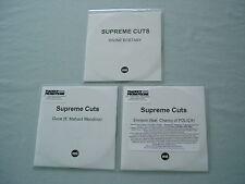 SUPREME CUTS job lot of 3 promo CD album/singles Divine Ecstasy Envision Polica