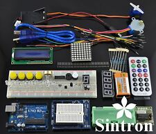 [Sintron] UNO R3 Upgrade Kit with Motor LCD Servo Remote for Arduino AVR Starter