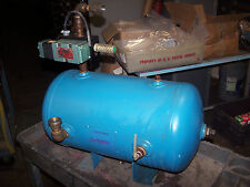 BRUNNER 9.8 GALLON AIR COMPRESSOR TANK 200 PSI PART # 0741 WITH NUMATIC VALVE