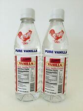 Two (2) Danncy Pure Mexican Vanilla Extract- Clear/White Color (12 ounces each)