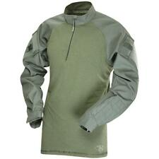 TRU SPEC BY ATLANCO TruSpec - TRU Long Sleeve 1/4 Zip Combat Shirt Medium OD Gre