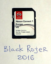 SD Card - LATEST map Europe for Nissan Connect LCN1 V6 KE288-LCN1E15 (2015-2016)