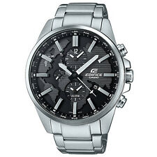 Casio Edifice ETD-300D-1A Dual Dial World Time Watch Brand New