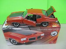 1972 PONTIAC GTO RESTOMOD STREET FIGHTER #0655 OF 750 G1801214 HARDTOP 1:18