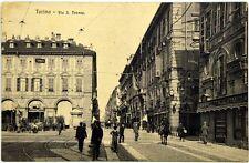 Cartolina Formato Piccolo - Torino - Via S. Teresa Viaggiata