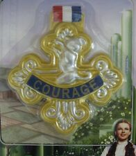 The Wizard of Oz Cowardly Lion Badge of Courage Gold Costume Accessory Coward