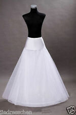 New Promotion White Wedding Dress Bridal One Hoop A-Line Petticoat Crinoline++++