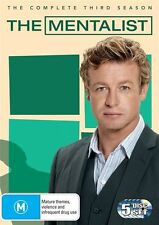 The Mentalist : Season 3 (DVD, 2011, 5-Disc Set) Brand New, Genuine & Sealed D55