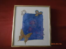 Quebec painter Nicole Gagne's Envol 2 Fly Away 2 Serigraphy on Silk Paper