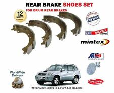FOR TOYOTA RAV 4 RAV4 1.8 2.0 VVTI D4D 1994-2006 NEW REAR BRAKE SHOES SET