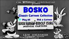 Bosko Classic Cartoon Collection: 27 1930s cartoons on DVD! Banned Looney Tunes