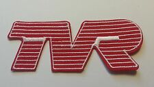 TVR EMBROIDERED CLOTH BADGE