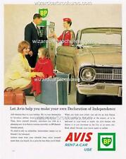 1964 FORD XM FALCON & AVIS & BP A3 POSTER AD SALES BROCHURE ADVERTISEMENT ADVERT