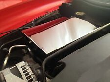Corvette C7 2014-2016 FUSE BOX COVER (LARGE STYLE) chrome stainless engine