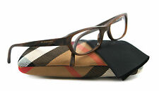 NEW Burberry Eyeglasses BE 2096 Brown 3022 BE2096 53mm