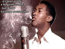 Sam Cooke # 10 - 8 x 10 Tee Shirt Iron On Transfer