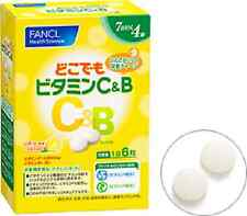 FANCL Anywhere vitamin C & B About four weeks 7 days (42 grain)  Free Shipping!!