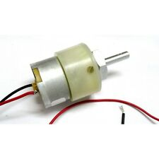 Gearhead Motor 12V DC 100RPM with wire ready to use - High Quality Geared Motors
