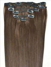"16""18""20""22""24""26""30"" 7Pcs Full Head Clip In Remy 100% Real Human Hair Extension"