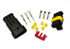 Superseal AMP/Tyco Waterproof Terminal Electrical Connectors 3 Way 0.5-1.5 Kit