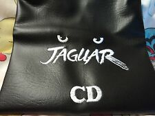 Atari Jaguar CD   Custom Made and Embroidered  Dust Cover White Letter