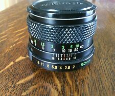 MSX Camera Lens 42mm SX 1:2 f 50 mm Thread Fit Ser No 173585 Mamiya Sekor Japan