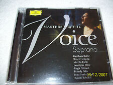 Masters of the Voice CD~Soprano- 2004 (2 Discs)