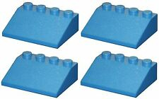 Missing Lego Brick 3297 Blue x 4 Slope Brick 33 3 x 4